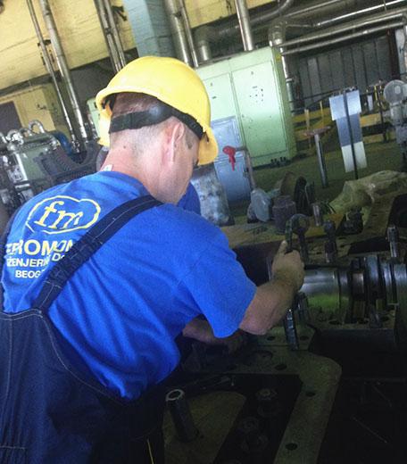 Capital repair of turbine K-200-130-3 LMZ