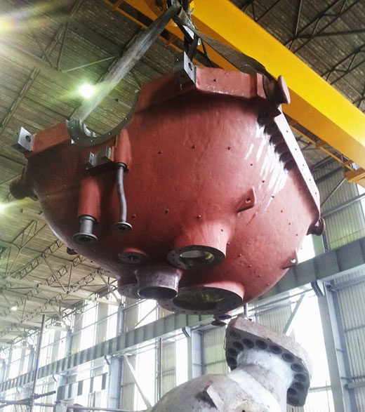 Modernizacija turboagregata bloka B1