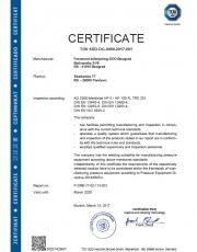 HP 0 PED 2014/68/EU